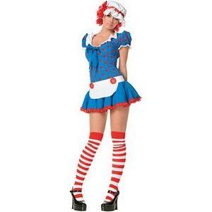 Leg Avenue Sexy Rag Doll Halloween Costume